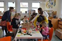 Workshop pro děti v blanenské knihovně.
