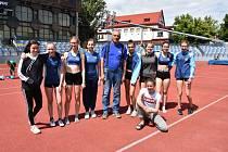 Atletické žákyně z Blanska byly ve Znojmě bronzové
