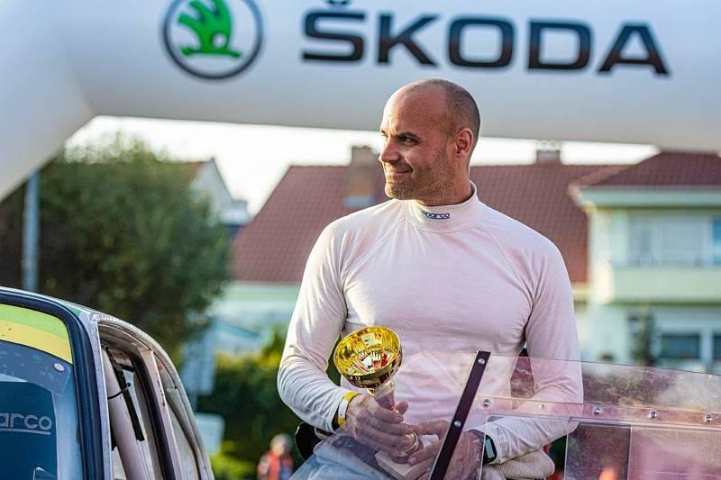 Týmu ve složení Roman Burget –Ivo Poch se podařilo vyhrát domácí soutěž Rally Vyškov.