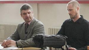 Řidič autobusu Petr Furch (na snímku vlevo) dostal u Okresního soudu v Blansku tříletý trest za usmrcení z nedbalosti a šest let zákaz řízení. Rozsudek není zatím pravomocný.