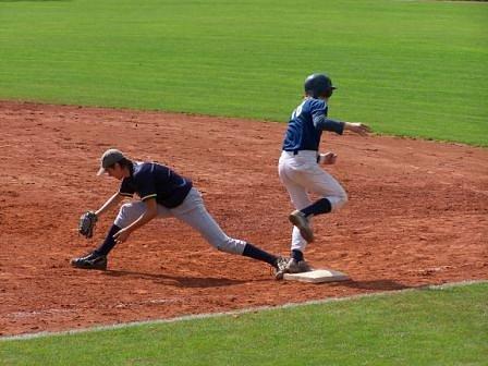 V prvním kole play off mistrovství republiky se baseballový kadeti Black Hill Blansko příliš nezpotili