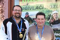 Bratři Tomáš (vlevo) a David Koudelkovi.
