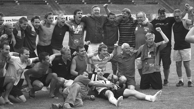 Tým FK Apos Blansko se po deseti letech dostal do divize.