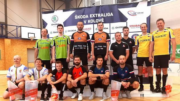 Třetí kolo české extraligy v kolové ovládl tým SC Svitávka.