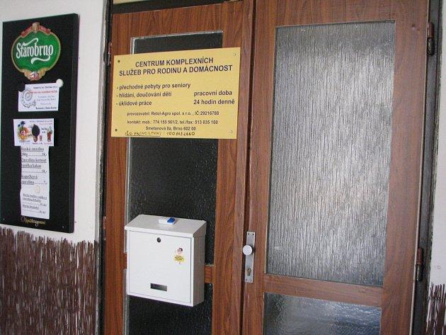 V Centru komplexních služeb v Kunštátě mělo podle ombudsmanky Anny šabatové docházet k poutání klientů i jejich zamykání.