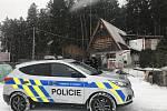 Policisté kontrolovali chaty a rekreační objekty v okolí Letovic a Velkých Opatovic.