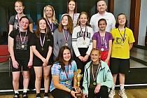 Blanenské basketbalisty kategorie do 15 let vyhrály Nadregionální ligu.
