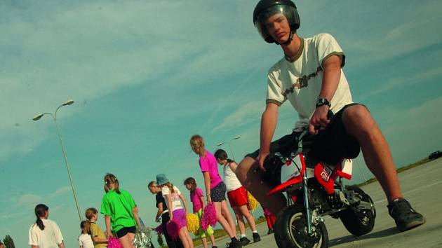 motocykl BLATA
