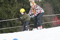Hořický skiareál.