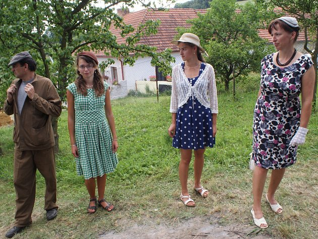 Rodinu Valentovu z Drválovic baví historie.