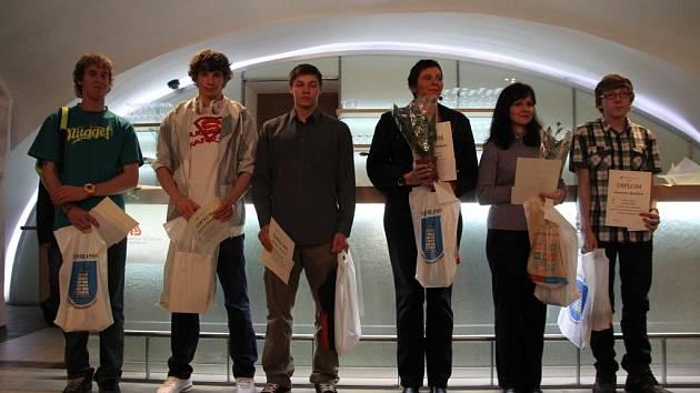 Sportovní komise města Blanska ocenila nejlepší sportovce za minulý rok 2012.