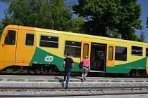 Deset dní. Tak dlouho trvala částečná oprava vlakového nádraží v Boskovicích. Stavební firma rekonstruovala nástupiště i koleje.