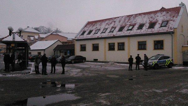 Čekání na prezidenta Miloše Zemana uHotelu Sladovna vČerné Hoře na Blanensku.