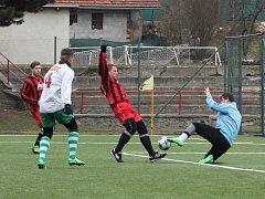 Fotbalisté Letovic drželi s Rájcem-Jestřebí krok jen na začátku, pak prohráli 7:1.