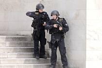Na městském úřadu v Blansku se střílelo. Při cvičení policistů.