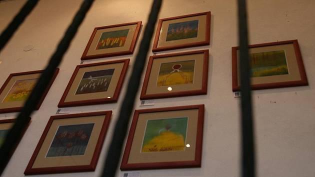 Adamovská výtvarnice Alena Baisová představuje v těchto dnech svoji tvorbu v blanenské Galerii ve věži. Výstavu obrázků Zasněná krajina si lidé prohlédnou až do patnáctého listopadu.