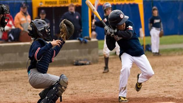 Baseballoví blanenští žáci