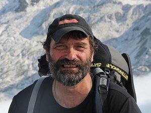 Zakladatel cestovatelského festivalu Rajbas Milan Daněk.