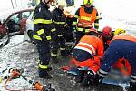 Jihomoravští hasiči vyjížděli v souvislosti s počasím k sedmi nehodám v kraji.