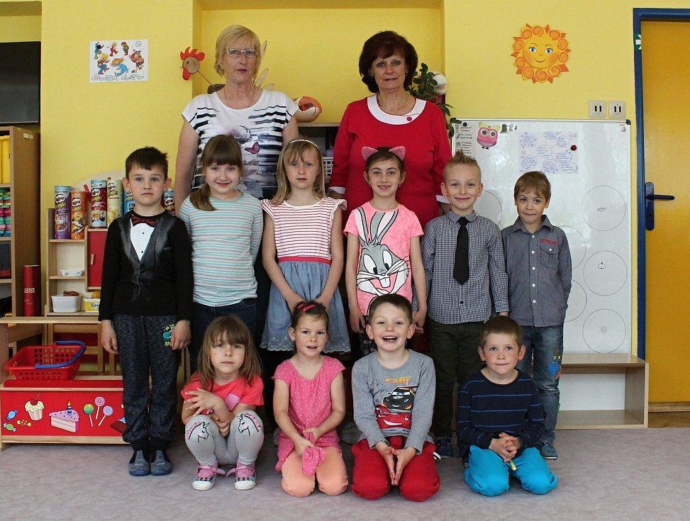 Předškoláci z II. Mateřské školy v Rájci-Jestřebí.
