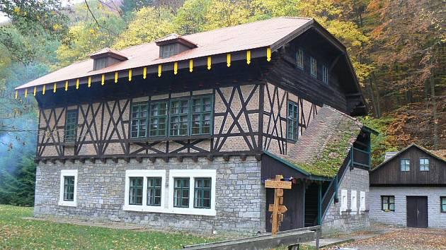 Chata Švýcárna u Adamova