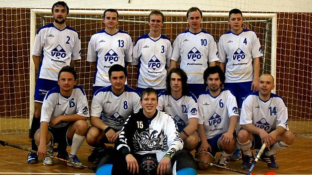 Florbalový tým FBO Orel Boskovice je nejlepší na okrese.