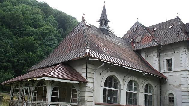 Hotel a restaurace Skalní sklep v Adamově.