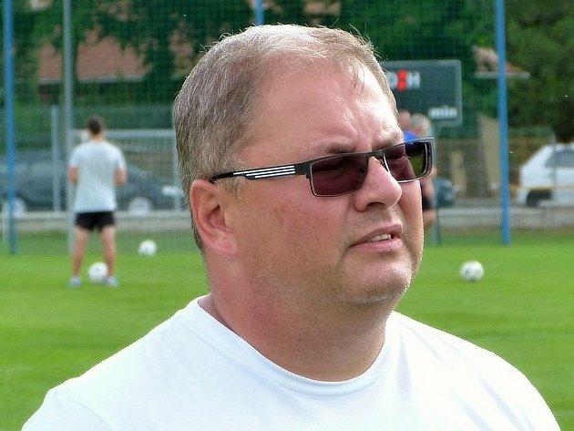 Předseda blanenského fotbalu Zdeněk Veselý.
