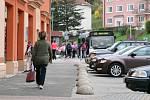 V Adamově jezdil ve čtvrtek kvůli stávce řidičů ČAD Blansko jen jeden autobus.