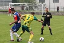 Fotbalisté Blanska porazili zachraňující se Napajedla 1:0.