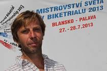 Předseda českého biketrialu Martin Kakáč.