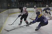 Hokejisté Boskovic porazili v rozhodujícím třetím zápase čtvrtfinále play-off krajské hokejové ligy Velké Meziříčí a postupují do semifinále.