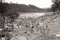 Blaneskou přehradu Palava otevřeli místní v červnu 1971.