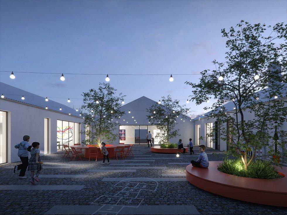Moderní zázemí za 206 milionů. V Ostrově u Macochy postaví novou dětskou léčebnu.