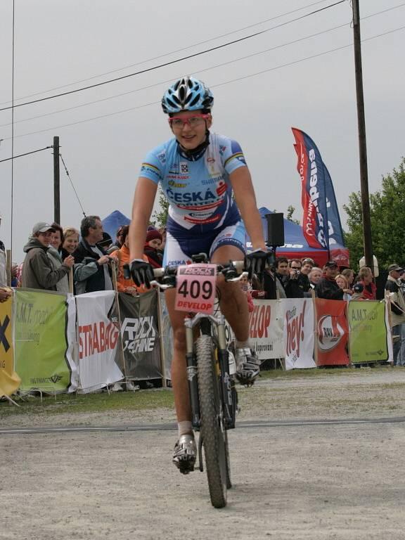 Třetí závod Českého poháru horských kol vyhráli Jiří Friedl a Tereza Huříková.