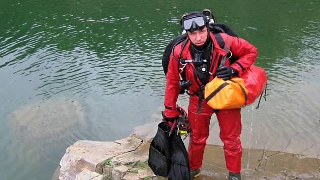 Speleolog Zdeněk Motyčka z Rudice je jedním z hlavních organizátorů Mezinárodního speleologického kongresu.