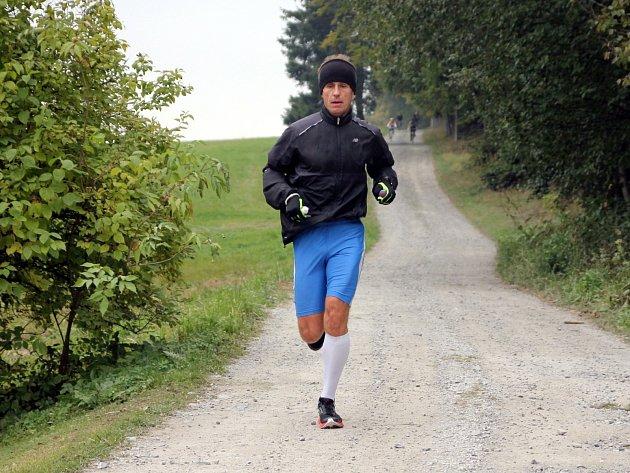 Adamovský běžec Jaroslav Stloukal zažívá povedenou sezonu.