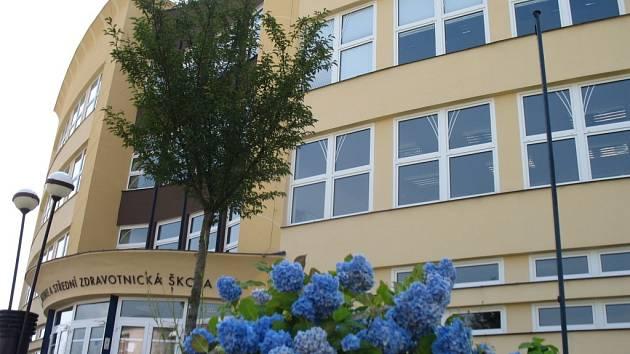Obchodní akademie a Střední zdravotnická škola je nejstarší střední školou v Blansku. Její počátky sahají až do třicátých let minulého století. Dnes ji navštěvuje asi tři sta žáků ve dvanácti třídách.