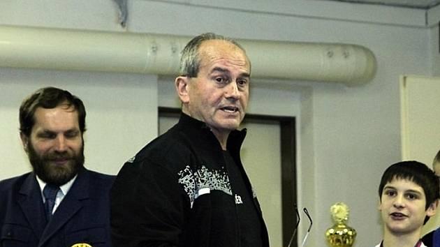 Trenér boskovických vzpěračů Čestmír Sekanina