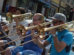 Jeden z předních norských orchestrů Jaren Hornmusikkforening v pátek koncertoval na Masarykově náměstí v Boskovicích.