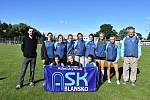 Družstvo žákyň postupuje na z mistroství Moravy a Slezska v Břeclavi do celostátního finále.