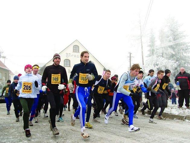 Poslední podnik vytrvalecké ligy v Petrovicích. Mnozí běžci netuší, že jsou součástí další soutěže.