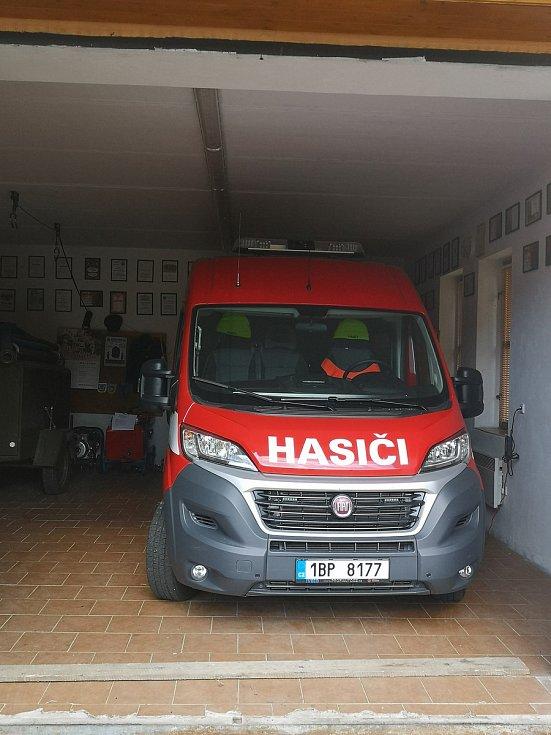 Nové vozidlo hasičů.