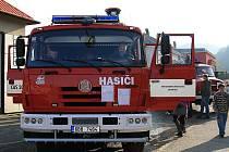 Sbor dobrovolných hasičů Boskovice I předvedl v sobotu před požární zbrojnicí své nové zásahové auto.