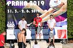 Blanenští plavci závodili na přeborech Moravy v Kopřivnici a mezinárodním mítinku v Praze.
