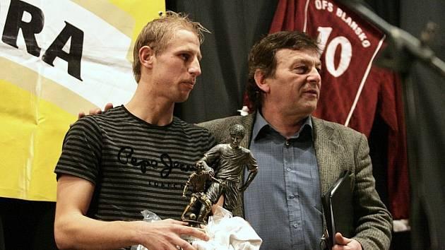 Útočník FK Apos Blansko Martin Sehnal vyhrál anketu Fotbalista okresu Blansko 2008