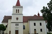 Kostel v Lysicích.
