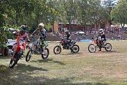 Ve Voděradech pořádali členové Kiliangangu tradiční motosraz.