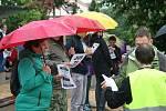 Na blanenské náměstí Republiky přišlo na demonstraci za nezávislou justici a rezignaci premiéra Babiše přes sto lidí. V uplynulých čtrnácti dnech se v okresním městě jednalo už o druhou protestní akci.