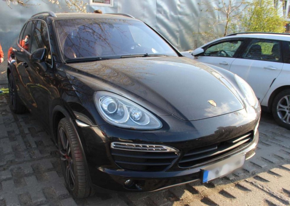 Auto podnikatel Jana Vaculíka z Černé Hory.